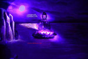 mural-buda-luz-ultravioleta-uv