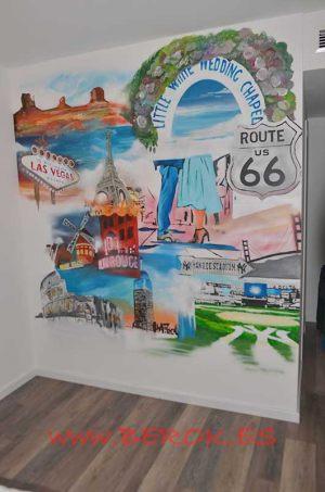 mural graffiti paises mundo