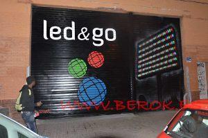 mural graffiti rotulacion poblenou ledandgo