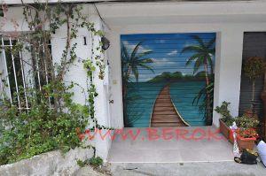 graffiti persiana playa