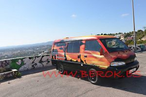 mural furgoneta africa