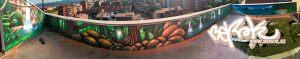 murales patio selva