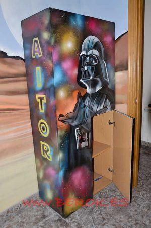 graffiti-armario-star-wars