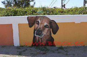 graffiti-perro-correcan-cubellas