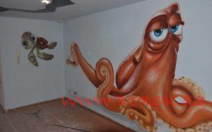 graffiti-pulpo-buscando-a-dory