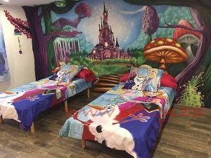 mural-habitacion-castillo-princesas