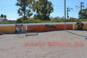 mural-perros-correcan-cubelles