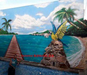 mural-playa-piscina