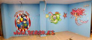 Murales infantiles Castellbell Park