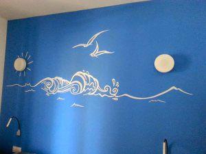 Decoracion-mural-apartamentos-olas-de-mar