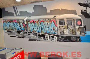 Graffitis-hamburgueseria