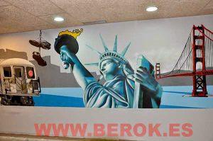 Mural-estatua-libertad