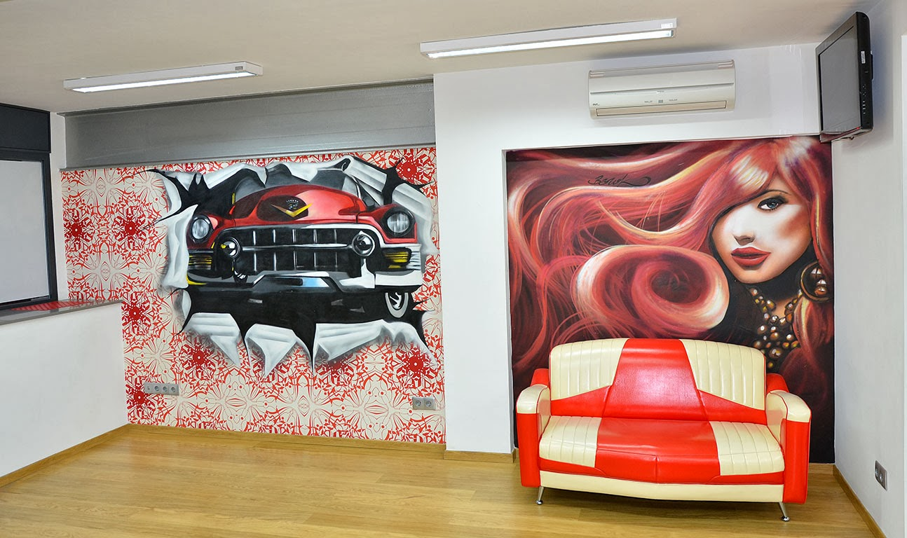 Berok graffiti profesional barcelona resultados de b squeda for Decoracion en peluquerias