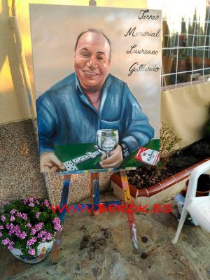 retrato torneo memorial laureano gallardo