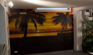 Decoracion-interior-de-salon-mural-caribe