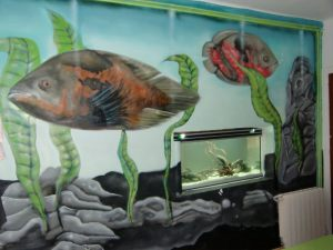 decoracion-mural-pecera