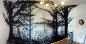 mural-habitacion-bosque-gris