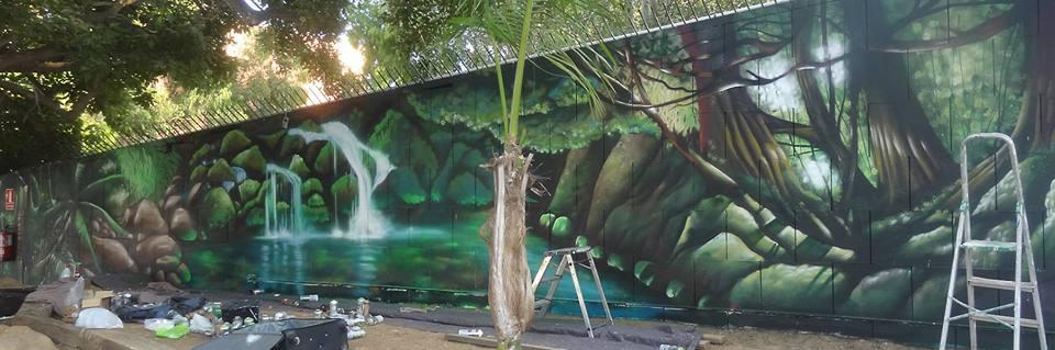 Berok graffiti profesional barcelona resultados de b squeda for Como pintar un mural en la pared exterior