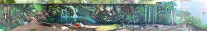 Mural-Atlantida-BeachClub-Barcelona