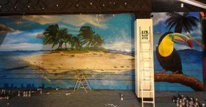 Decoracion-mural-Bora-Bora-Sabadell