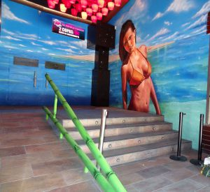 decoracion-mural-del-bora-bora-de-sabadell-chica-biquini