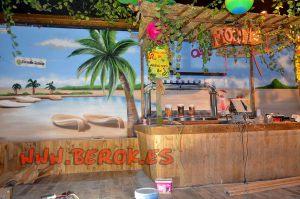 graffiti discoteca caribe