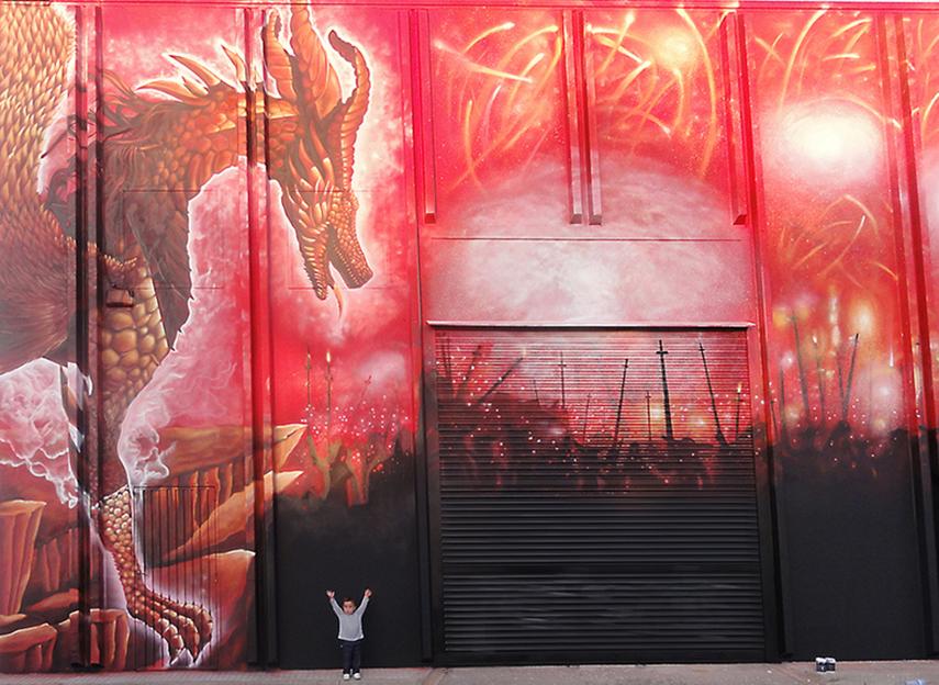 Graffiti Fachadas