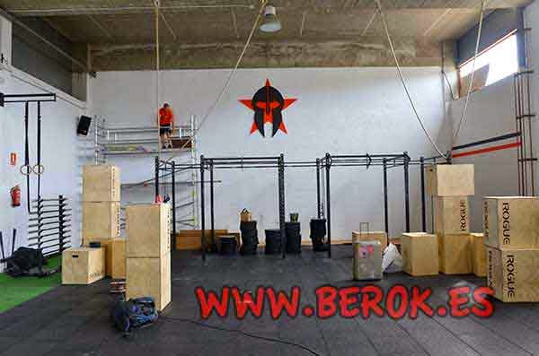 Berok graffiti profesional barcelona resultados de b squeda - Decoracion de gimnasios ...