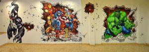 graffiti-mural-marvel