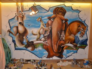 ice-age-mural