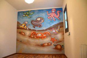 mural-infantil-bajo-el-mar