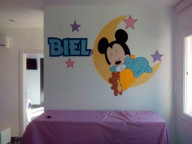 Berok graffiti profesional barcelona resultados de b squeda for Mural para habitacion