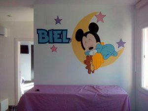 mural-infantil-mickey-mouse-durmiendo-biel