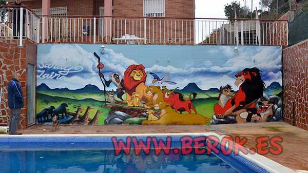 Berok graffiti profesional barcelona resultados de b squeda for Piscina cuadros leon