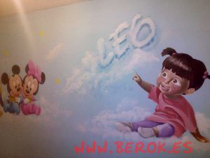 graffiti-monstruos-sa-mickey-minnie-habitacion-infantil