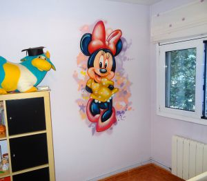 Decoracion-infantil-Minnie-Mouse