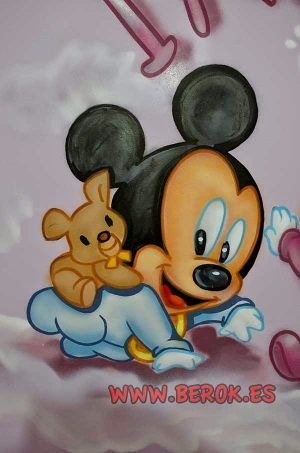 Mural-decorativo-mickey-bebe