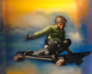 Graffiti-mural-skater
