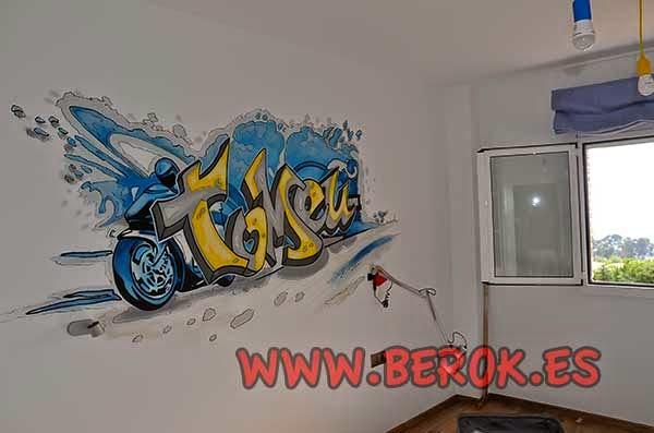 Berok graffiti profesional barcelona resultados de b squeda for Graffitis para habitaciones