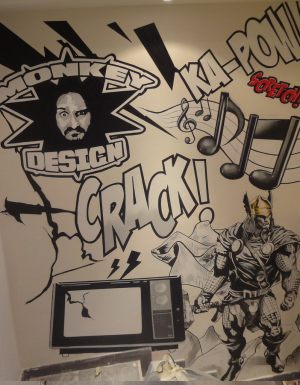 Comic-Graffiti