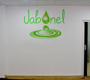 Rotulacion-logo-interior-tienda-jabonel