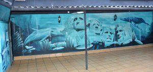 Graffiti-monte-Rushmore