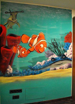 mural-infantil-marino-nemo