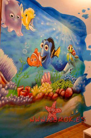mural_infantil_nemo_corales