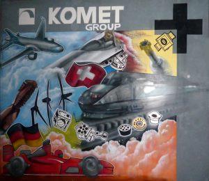 Decoracion-interior-mural-oficina-Komet-Group