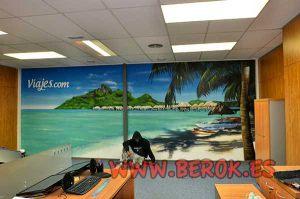 Mural-de-playa-en-oficinas-de-Wiprojects