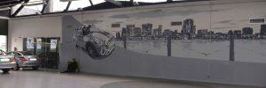 Decoracion-mural-concesionario-AutoRoma94-en-Sant-Cugat-del-Valles