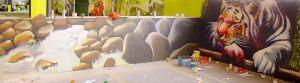 graffiti-mural-tigre-cascada