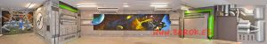 mural-infantil-invaders-park-universo-espacio