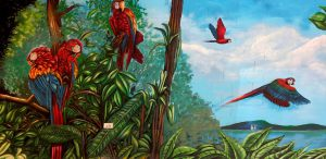 mural-loros